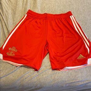 Southampton FC soccer shorts adidas
